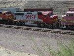 BNSF 124 WB