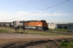 BNSF 5888 north with empties