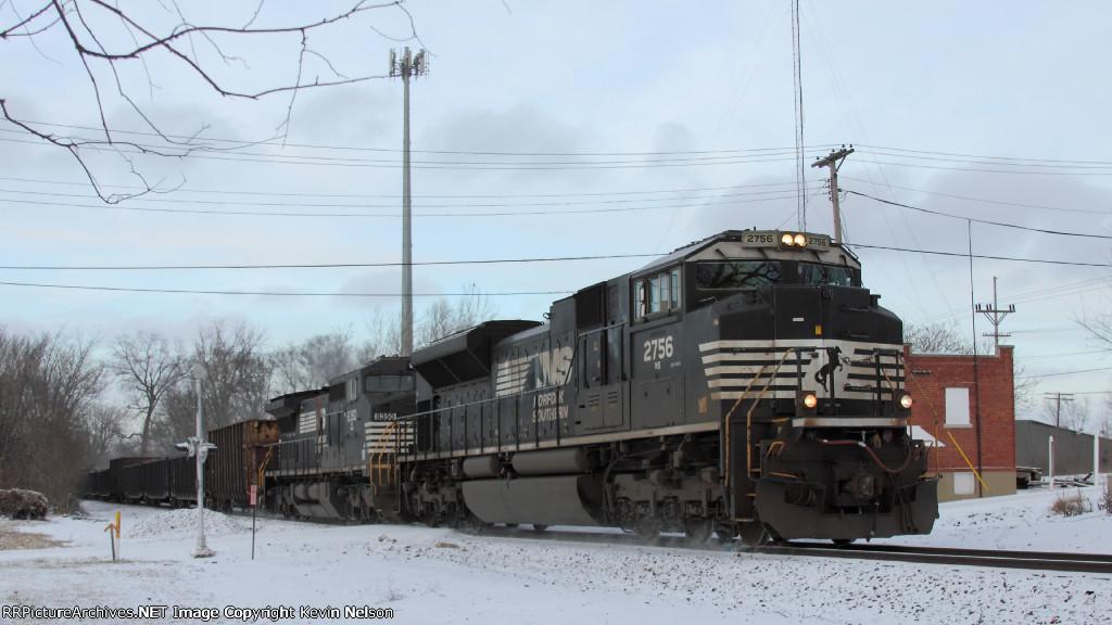 NS 2756 SD70M-2