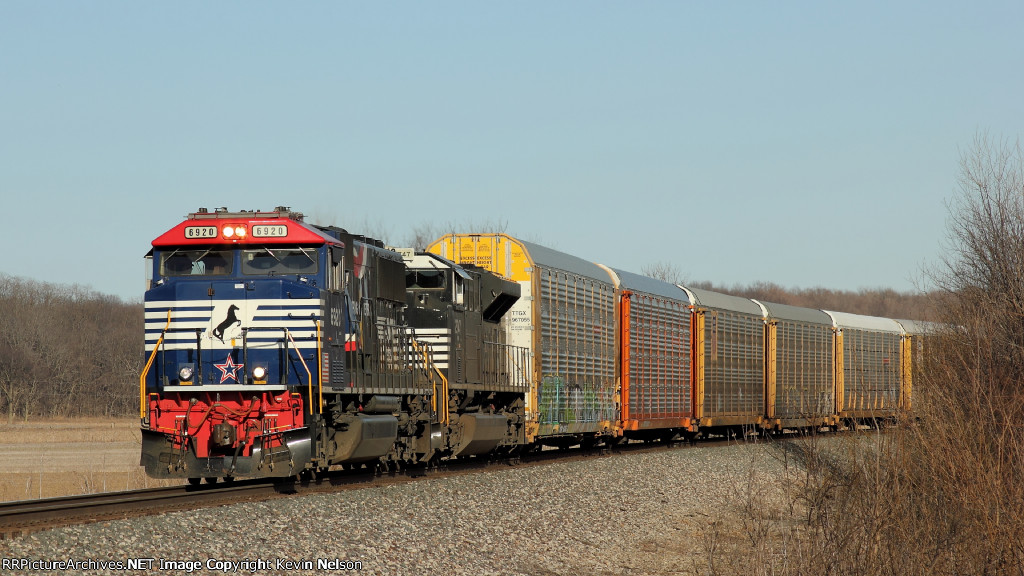 NS 6920 SD60E   Honor Our Veterns