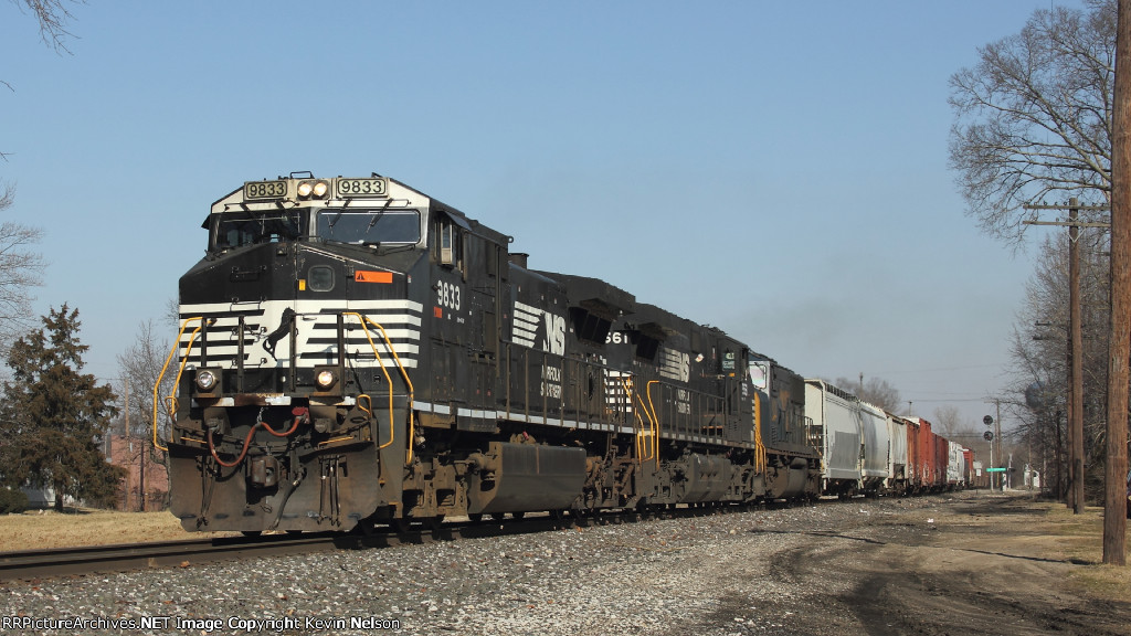 NS 9833 C40-9W