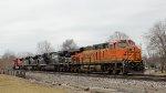 BNSF 7167 ES44C4