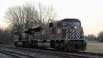 NS 7335 SD9043MAC in Maroon Paint