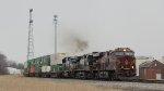 NS 8102 ES44AC PRR Heritage