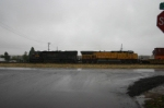 UP 8861 leads mystery KP stack train