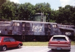 PC 4873 rots away at the whippany museum.  Not even sure where this loco is now.