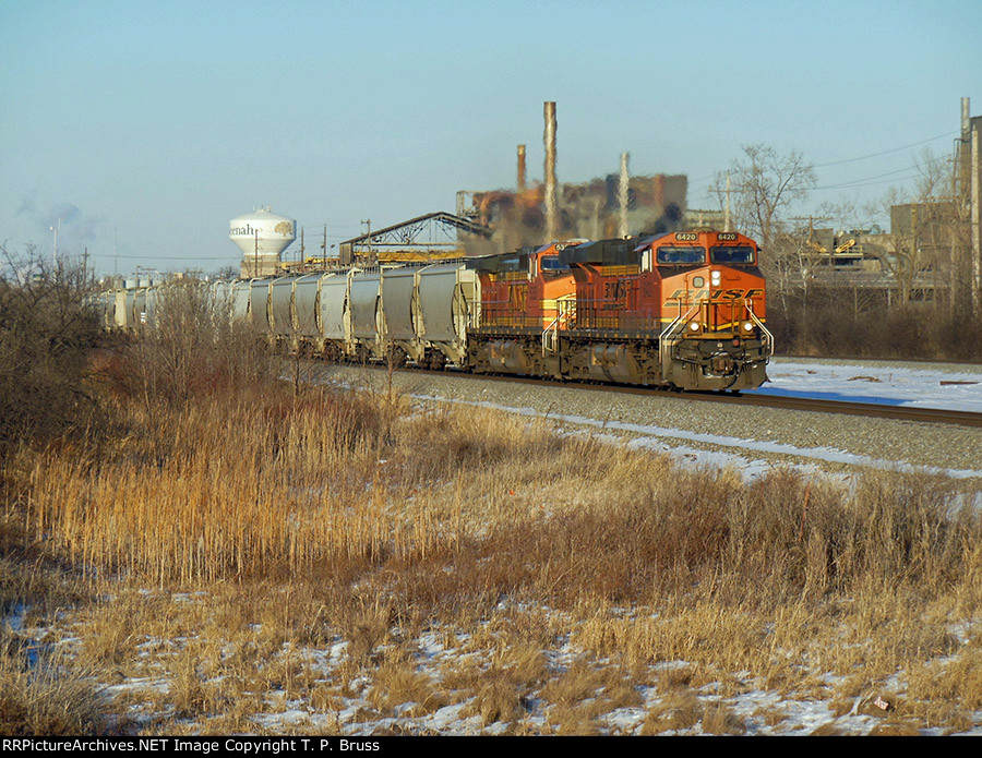 BNSF 6420 and BNSF 5350