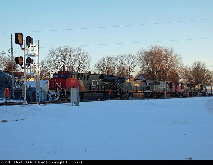 CN 3042, BCOL 4648, PRLX 208, CN 5758, NS 9487