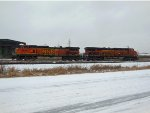 BNSF 4626 and BNSF 7883