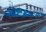 CR GP38-2's