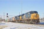 CSXT 818 On CSX Q 509 Eastbound