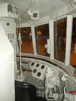 Cab of the Pioneer Zephyr
