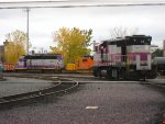 EMD's for work and passengers outside BET