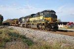 NS 1068 on FEC Bound Rail Train