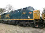 CSX 5327 Western Maryland on UP