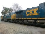 CSX power on Union Pacific LB bound train