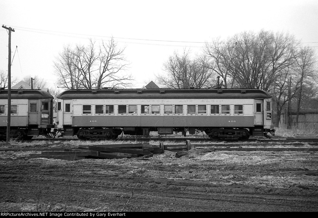 CAE Interurban #406 - Chicago, Aurora & Elgin
