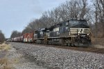 NS 9046 Leads Ns 111 out of Wentzville Mo.
