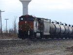 BNSF C44-9W 5488