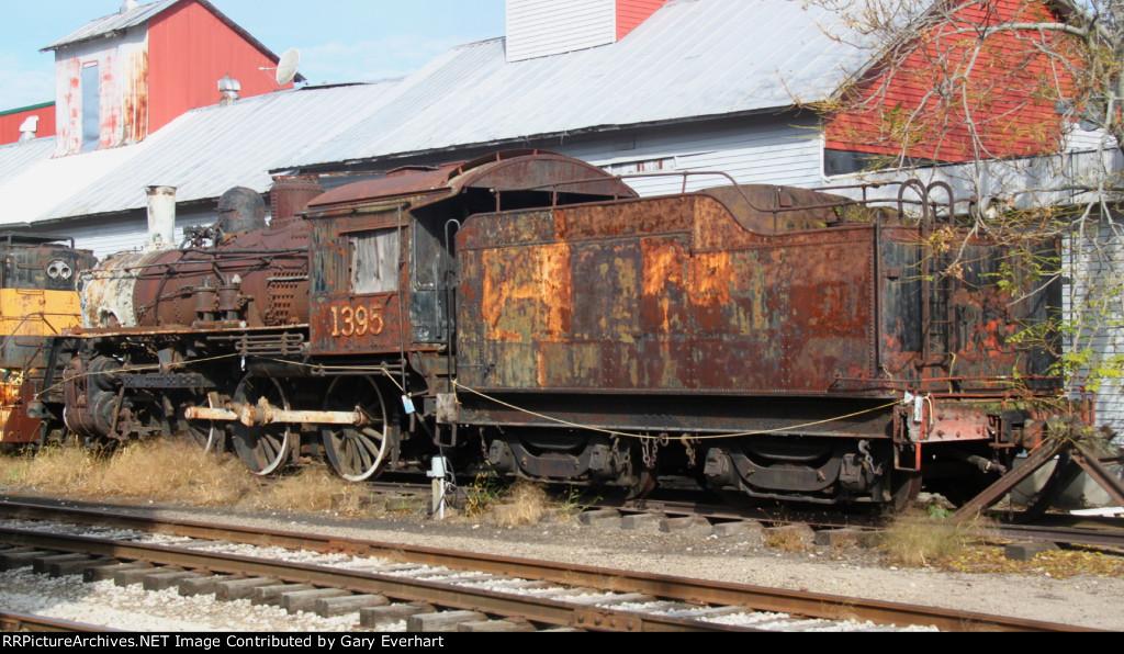 CN 4-6-0 #1395