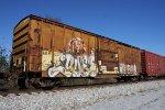 Wabash Valley Railroad boxcar.