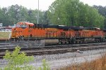 BNSF 8020 and 7428