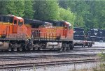 BNSF 7428 and 4691
