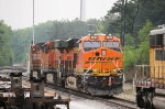 BNSF 8020, 7428, and 4691