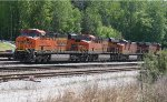 BNSF 7450, 8150, 4108, and 6513