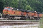 BNSF 4407 and 6853