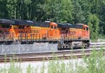 BNSF 7882 and 7611