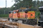 BNSF 4183 and 8976