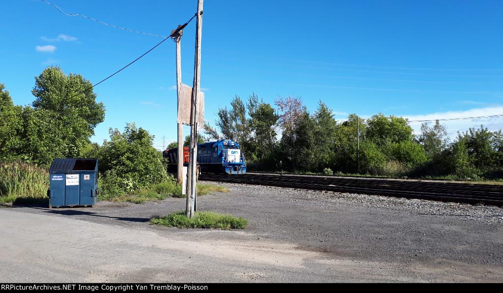CN 538 at Coteau