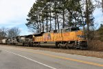 UP 8835 leading NS 54g by Fox Rd
