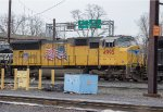 UP SD70M #4995