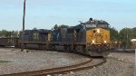 CSX 3307 leads the USMGP at Tower 68
