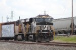 NS 7576 holds a WB manifest at Tower 87