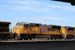 Graffitied SD70M 3rd out on the MFWEW-14
