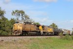 UP 6591 leads the MLIEWX-20 on the UP Houston Sub
