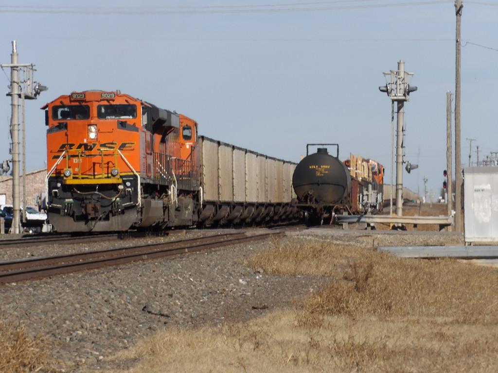 BNSF SD70ACe 9029