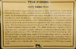 TTOX 130059 - TTX Co Piggyback Car Sign