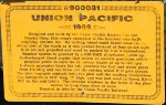 UP 900081 - Union Pacific Snowplow Sign