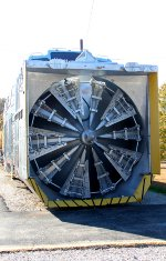 UP 900081 - Union Pacific Snowplow Cutting Wheel