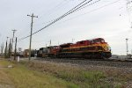 WB KCS freight w/ a PRLX SD75M trailing