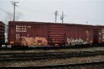 CP 214075  50-6 ft Single Door Boxcar (side A)