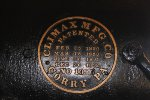 Shawnigan Lake Lumber Co Climax #2 Builder Plate