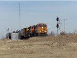 BNSF C44-9W 5492