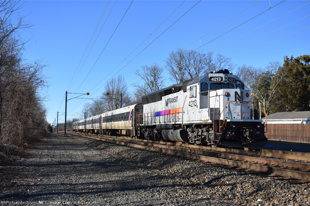 NJT 4213 Train #2312