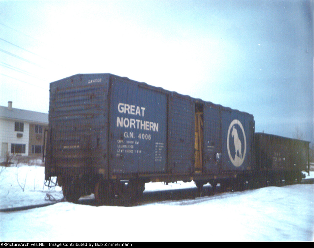 GN 4006 boxcar