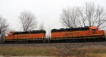 BNSF 2962 and BNSF 3017 (14 December 2018)
